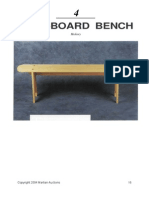 4 Board Bench