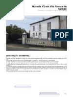 Moradia V3 Vila Franca do Campo S.Miguel Açores - 100% financiamento