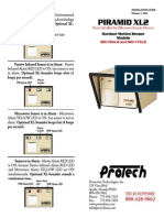 Protech Technologies SDI76XL2 Instruction Manual