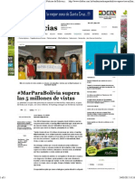 #MarParaBolivia2