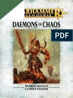 Warhammer Aos Daemons of Chaos Fr
