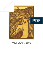 Tisha b'Av 5773