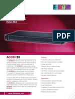 Digimerge ACCBH16 Data Sheet