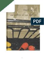 Rina Frank - Toate Casele Au Nevoie de Un Balcon