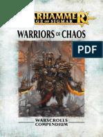 Warhammer Aos Warriors of Chaos Fr