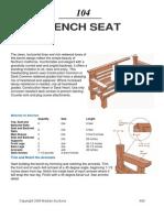 Bench Seat