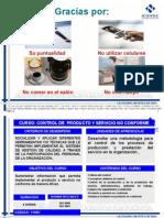 Productos y servicios no corformes en un SGC_Esther