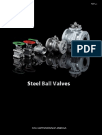 Kitz Carbon and Stainless Steel Floating Ball Valves