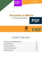 CESOP Educacion en Mexico