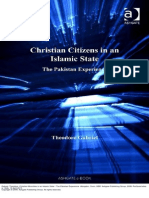 Christian Minorities in an Islamic State the Pakistan Experience
