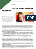 Los Devastadores Efectos Del Cannabis en Los Jóvenes