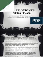 Las Emociones Negativas
