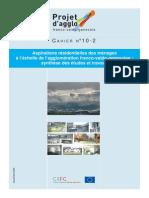 Cahier 10 2 Logement Aspirations Residentielles Des Menages Agglo Fvg Nov2008