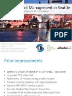 Traffic Incident Management Update
