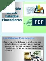 Proyección de Los Estados Financieros