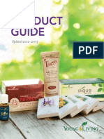 Young Living Essencial Oils 2013 Product Guide