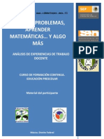 CFC Preescolar Resolver Problemas Material Del Participante