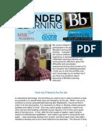 blended learning portfolio