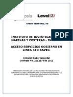 Acceso Servicios Gobierno en Linea Red Ravec