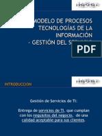 ISQS Modelo de Procesos Para La Gestion de Servicios de TI