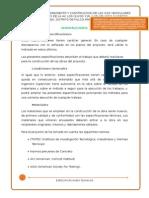 ESPECIFICACIONES TECNICAS 2015