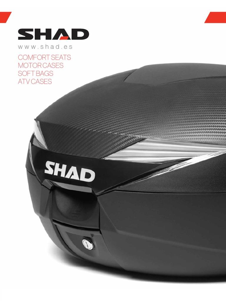 Shad V0E59T Soporte de Ba/úl para Piaggio Extreme 50 Negro