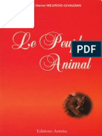 Meurois Givaudan Le Peuple Animal FR PDF PDF