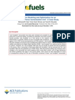 Predictive Modeling and Optimization for an Industrial Penex Isomerization Unit a Case Study