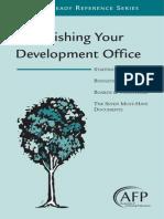 7 Establishing Development Office