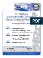 Central Bklyn Invitational Basketball Tournament