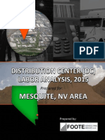 Distribution Center (DC) Labor Analysis, 2015