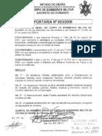 Portaria 83-2006 Estabelece Criterios Bm Assessortecnico