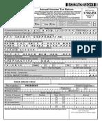 BIR Form 1702-Ex