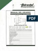 Manual Bomba CI Hidrostal