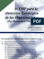 Modelo TMP Para Direccion Estrategica, V-2.0
