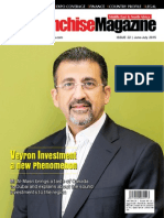 The Franchise Magazine | Veyron Investment Cover