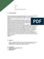 Programa- Educación y Comunicación