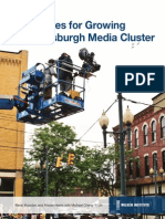 Strategies for Growing the Pittsburgh Media Cluster