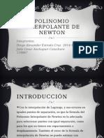 Polinomio Interpolante de Newton (Ppt)