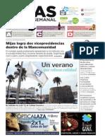 Mijas Semanal Nº647 Del 14 al 20 de agosto de 2015
