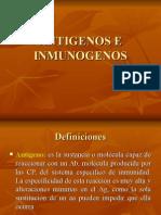 Antigenos e Inmunogenos