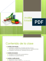 Análisis Estadístico en medicina