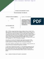 DOJ v. Portland Police 14 Sept 15 status conference