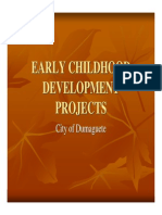 Early Childhood Development Projects
