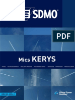 Digital Control Panel Kerys (English)