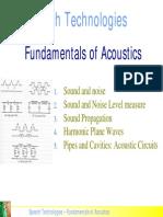 Fundamentals Acoustics