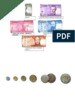 Billetes y Moedas 2015 Chile