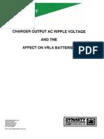Efecto Del Ripple en La Vida de Las Baterias
