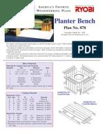 Planter Bench 1