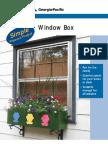 Plywood Window Box